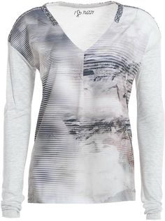 Tuzzi Grey Printed T-Shirt