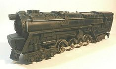 LIONEL POST WAR CHRISTMAS TREE 6 ORNAMENT BALLS Steam Diesel Train Car Engines