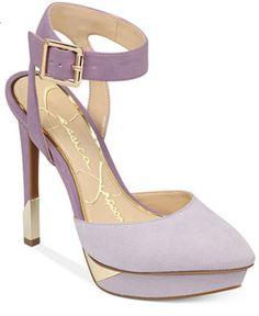 Jessica Simpson Classic Lavender Pump...