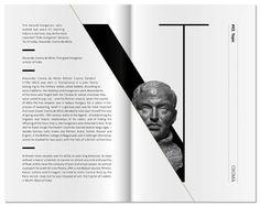 editorial layout Hundia / 2013 Hundia / 2013 by kissmiklos , via Behance Layout Design Inspiration, Page Layout Design, Magazine Layout Design, Graphic Design Layouts, Icon Design, Magazine Layouts, Design Design, Layout Book, Photo Book Design