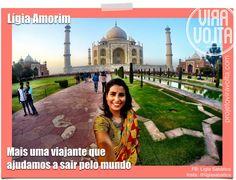 Lígia Amorim https://www.facebook.com/projetoviravolta 28 anos, de Brasília - era gerente de produto em multinacionais do varejo de moda Saiu para voar pelo mundo no dia 09 de junho de 2015 para viajar por 10 meses, mas já percebeu que a viagem vai durar na verdade uns 2 anos.