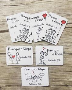 Calamite personalizzate matrimonio || info@fragolalilla.it Dream Wedding Dresses, Wedding Planner, Wedding Decorations, Marriage, Invitations, Weeding, Ideas, Party, Bridal Hairstyles
