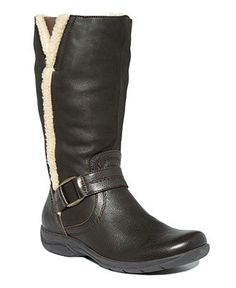 Clarks Women's Shoes, Chris Perth Tall Boots - Winter & Rain Boots - Shoes - Macy's