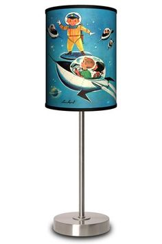 Jack n' Jill Space Kids Lamp