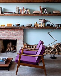 Adore the shelves. The chairs are great too.
