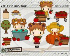 Hay Rides Pumpkin patch tractor kids haystack by DigiMyWorld