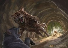 Warriors Official Artwork — Warriors: Into the Wild cover art for the Warrior Cats Comics, Warrior Cat Memes, Warrior Cats Fan Art, Warrior Cats Series, Warrior Cats Books, Warrior Cat Drawings, Cat Comics, Warrior Cats Movie, Cat Character