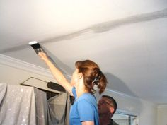 home repairs,home maintenance,home remodeling,home renovation Drywall Tape, Drywall Repair, Plaster Repair, Home Renovation, Home Remodeling, Bathroom Renovations, Home Improvement Projects, Home Projects, Repair Ceilings