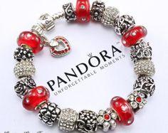 bracelet pandora rouge