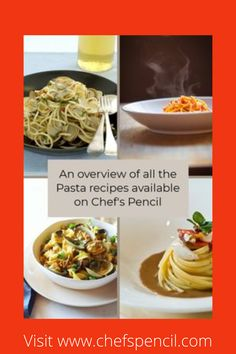 Chef's Pencil will have you thinking of simmering aromas and exotic spices that change the ordinary pasta dish into an extraordinary one.