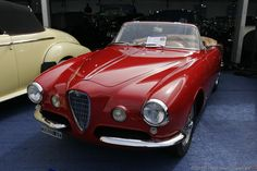 1955 Alfa Romeo 1900 SS Cabriolet  Maintenance/restoration of old/vintage vehicles: the material for new cogs/casters/gears/pads could be cast polyamide which I (Cast polyamide) can produce. My contact: tatjana.alic@windowslive.com