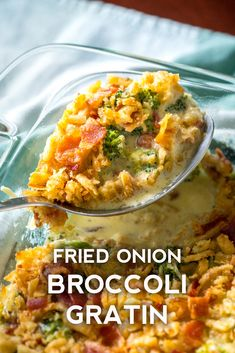 I'll be making this for a Thanksgiving side! Broccoli Gratin, Broccoli Bake, Broccoli Recipes, Broccoli Casserole, Brocolli, Fresh Broccoli, Broccoli Florets, Bacon Recipes, Cheese Recipes