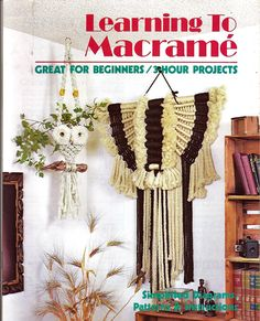 Learning to Macrame Great for beginners/ 3 by grammysyarngarden, $6.00 Designed by Virginia Walker (aka Virginia Davidow)
