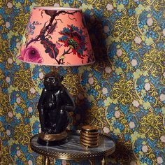 House of Hackney's decorative lamp sets are anything but ordinary. Pineapple, flamingo and monkey stands lend an irreverent charm to any room. Luxury Interior, Interior Architecture, Interior Design, My Living Room, Living Room Decor, Dark Lounge, Gothic Furniture, Indie Room, Lamp Sets