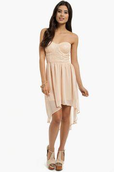 Light the Night Bustier Dress $52 at www.tobi.com