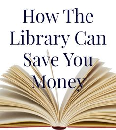 There are a ton of ways to save on books, audio books, digital books, movies and more just by shopping at your local library.