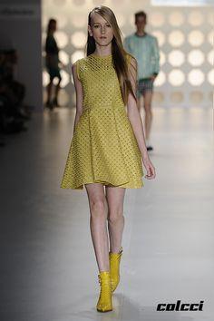 Colcci SPFW Primavera/Verão 2014 #lookfeminino