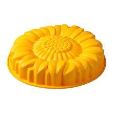 Forma do ciasta Girasole Pavoni żółta