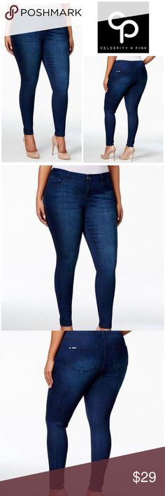 Celebrity Pink Cropped Skinny Jeans | belk