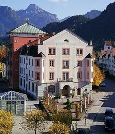 Fuessen germany photos | Hirsch Exterior Hotel outside