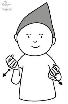 tanzen Kindergebärden Babyzeichen Babyzeichensprache Babygebärden Gebärdensprache GuK