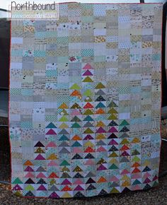 Piece N Quilt: Northbound - A Low-Volume Quilt Tutorial