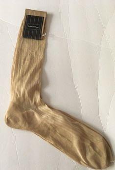 Ermenegildo Zegna Dress Socks Beige Men's Size 12.5 Knee Length 100% Cotton #ErmenegildoZegna #Dress Socks For Sale, Dress Socks, Size 12, Men Casual, Beige, Cotton, Fashion, Moda, Fashion Styles