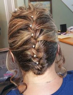 Simple Braided Updo For Shorter Hair Asymmetrical Hairstyles, Feathered Hairstyles, Bride Hairstyles, Hairstyles With Bangs, Natural Hairstyles, Afro Hairstyles, Black Wedding Hairstyles, Wedge Hairstyles, Updos Hairstyle