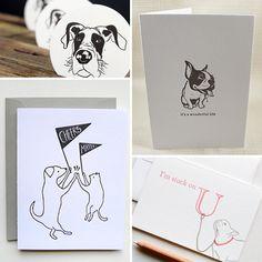 Roundup: Cool Letterpress Dog Stationery and Art Prints