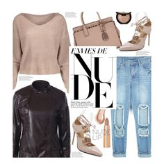 How To Wear Street Style The Perfect Nude Outfit Idea 2017 - Fashion Trends Ready To Wear For Plus Size, Curvy Women Over 20, 30, 40, 50