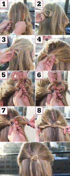 Pretzel Braid Tutorial - Infinity Braid How To - Seventeen