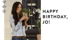 Happy birthday Joanna.   4-19