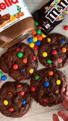Oreo Cheesecake Cookies, Nutella Cookies, Easy Cookie Recipes, Baking Recipes, Red Velvet Cookies, Cake Decorating Videos, Arabic Sweets, Starbucks Recipes, Candy Bouquet