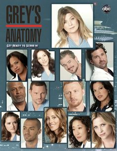 Started watching season 5 and never looked back. It's completely drama and I am a sucker for medical shows. Plus it puts lesbian characters on a mainstream TV show and its about time. Greys Anatomy Promo, Greys Anatomy Season 8, Medical Tv Shows, Medical Drama, Dark And Twisty, Great Tv Shows, Book Tv, Classic Tv, Films