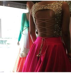 Sequence blouse # lehenga # love for bling # Indian weddings
