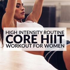 High Intensity Core Workout