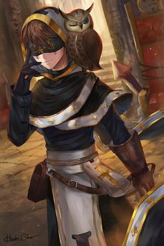 Simir at Oracle conference Dnd Characters, Fantasy Characters, Character Concept, Character Art, Bushido, Dungeons And Dragons, Identity Art, Character Design Inspiration, Anime Guys