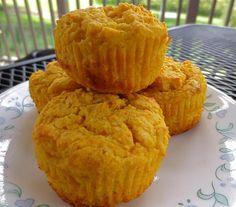 Sweet Potato (Queen) Cornbread  Add pumpkin pie spices for an OMG!