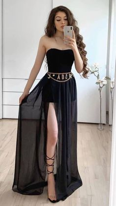 Elegant Summer Dresses, Cute Prom Dresses, Tight Dresses, Formal Dresses, Party Dresses, Moda Kpop, Dress Outfits, Girl Outfits, Kpop Fashion Outfits