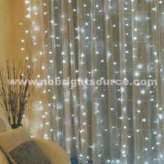 13 Best Curtain Lights Images On Pinterest