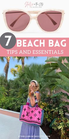 Heading to the beach this summer? Do NOT forget these 7 beach bag essentials! When packing for the beach be prepared with these tips and supplies to make the most out of your beach trip or beach vacation! Get the ultimate sun protection and beach packing tips here! When packing your beach bag these products are a must! So go ahead, relax and put your toes in the sand this summer with these 7 beach bag products for beach lovers everywhere! Beach Look, Beach Fun, Beach Trip, Vacation Fashion, Vacation Style, Looks Style, Mom Style, Beach Bag Essentials, Mom Pants