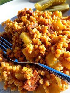 Hungarian Cuisine, Hungarian Recipes, Keto Fast Food Options, Eastern European Recipes, Vegetarian Recipes, Cooking Recipes, Good Food, Yummy Food, Recipes From Heaven