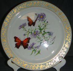 Lenox Butterfly & Flowers Butterfly Dinner Plate