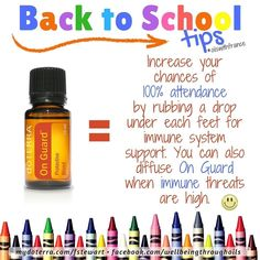 It's #backtoschool time in #Australia !  Are you ready? are your kids ready? what about the older ones? For the next few days I will be offering tips on how oils can support our children but don't forget we can all benefit from these tips.  Today The Protective Blend:  On Guard is ah-may-zing! It comes in many various forms and products. There's the 15mL essential oil bottle a convenient roller bottle of 9mL diluted so it's ready to use even on sensitive skin a tube of teeny beadlets each…