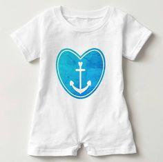 For little water lovers! http://ift.tt/2ppxLwU #anchor #gonefishing #sailinglife #beachbaby #romper #babyshowergift