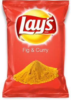Fig & Curry Potato Chips #Chips #Dips #Salsa #Potato #Kettle #Corn #Rice