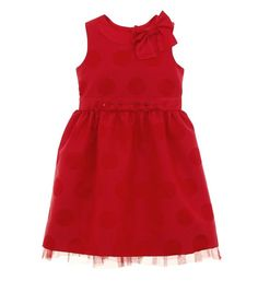 LOVE this little holiday dress from Hartstrings.  Will have to buy for next year :)
