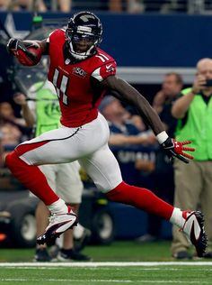 The ever amazing Julio Jones races for another TD ...