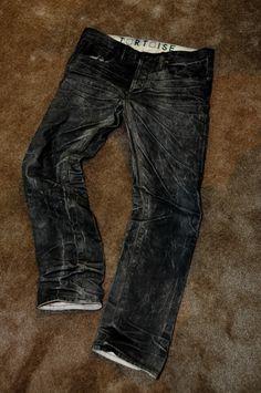 vintage black denim