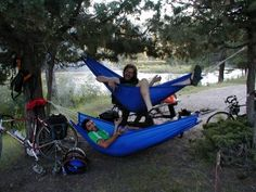 Hammocks are Ideal for Bicycle Touring